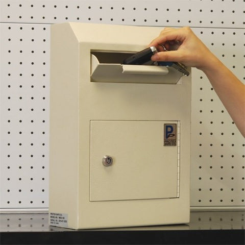 Protex Wds 150 Wall Mount Locking Payment Drop Box Safe