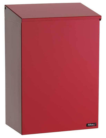 Qualarc ALX-100-RD Top Loading Wall Mount Mailbox - Red