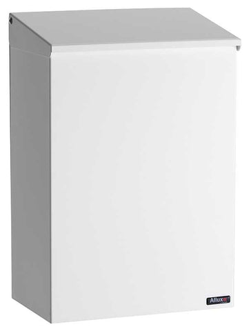 qualarc alx100wh top loading wall mount mailbox white