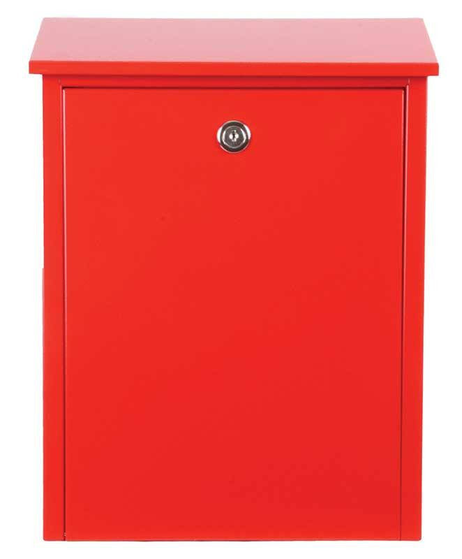 Qualarc ALX-200-RD Allux Series Mailbox - Red