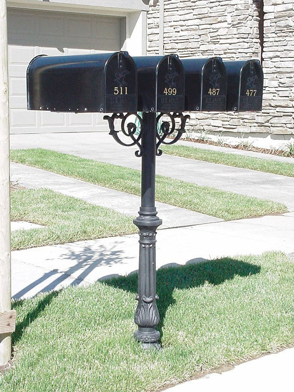 Qualarc LM3P Lewiston Mailbox With 3 Address Plates