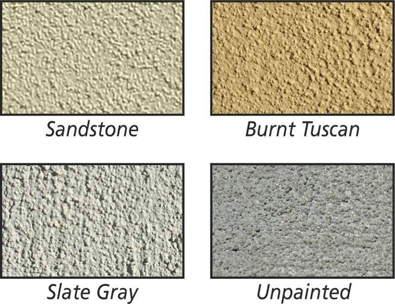 Qualarc EVMC-SHRT Estateview Stucco Cap and Pedestal