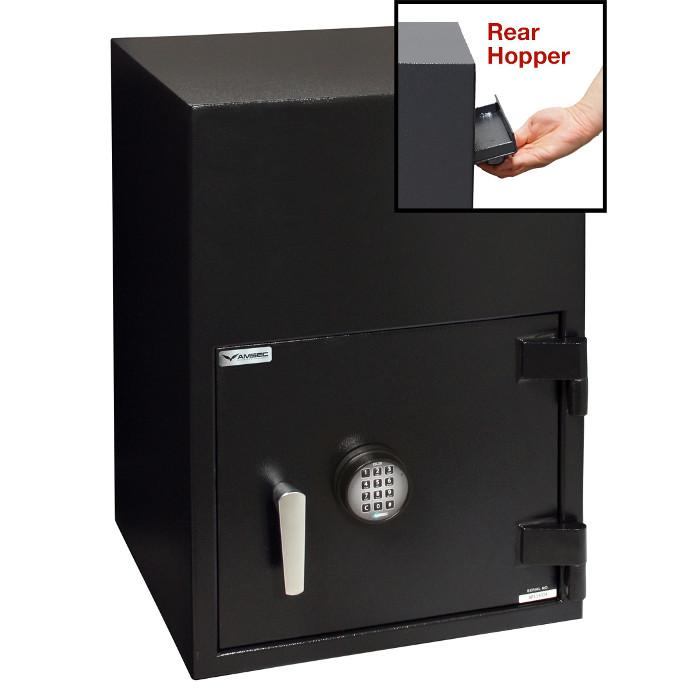 Rear Loading Deposit Safes - AMSEC BWB2025FLR Rear Loading Deposit Safe