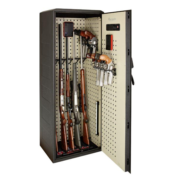 Hornady 98195 Rapid Safe Ready Vault with RFID - Door Open