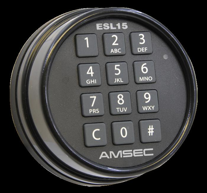 Safe Locks - AMSEC ESL15 0616001 Retrofit Digital Electronic Lock Kit
