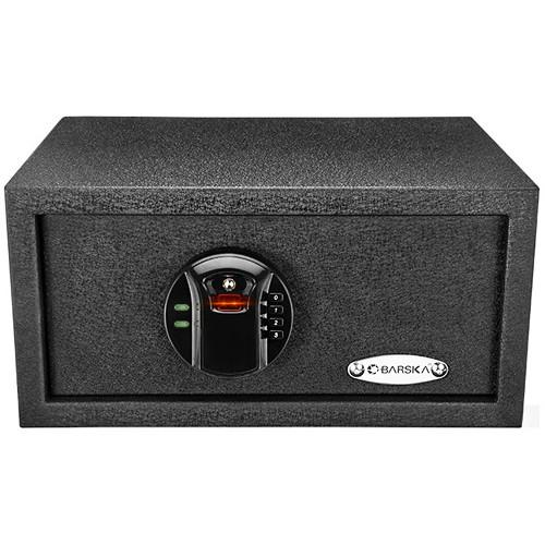 Security Safes - Barska AX12476 Biometric Keypad Security Safe HQ100