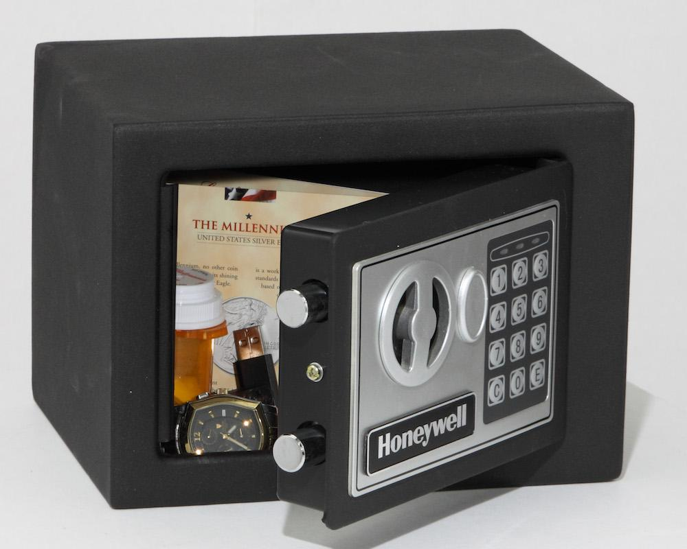 Security Safes - Honeywell 5005 Small Steel Security Safe With Digital Lock