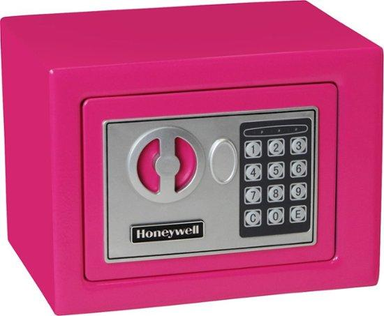 Security Safes - Honeywell 5005P Small Pink Steel Security Safe With Digital Lock