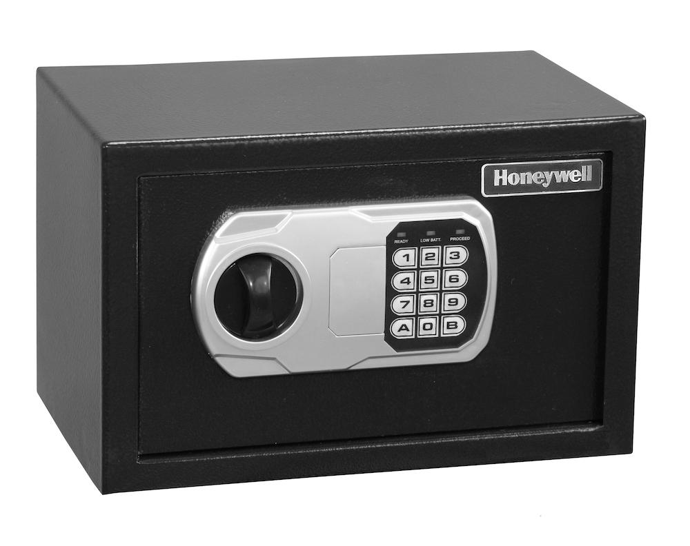 Security Safes - Honeywell 5101DOJ Small DOJ Approved Steel Security Safe With Digital Lock