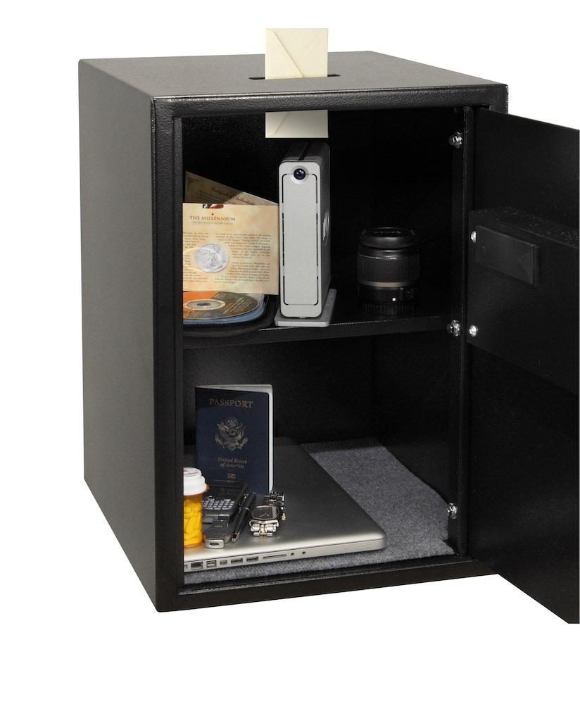 Security Safes - Honeywell 5107S Large Digital Steel Security Safe With Depository Slot