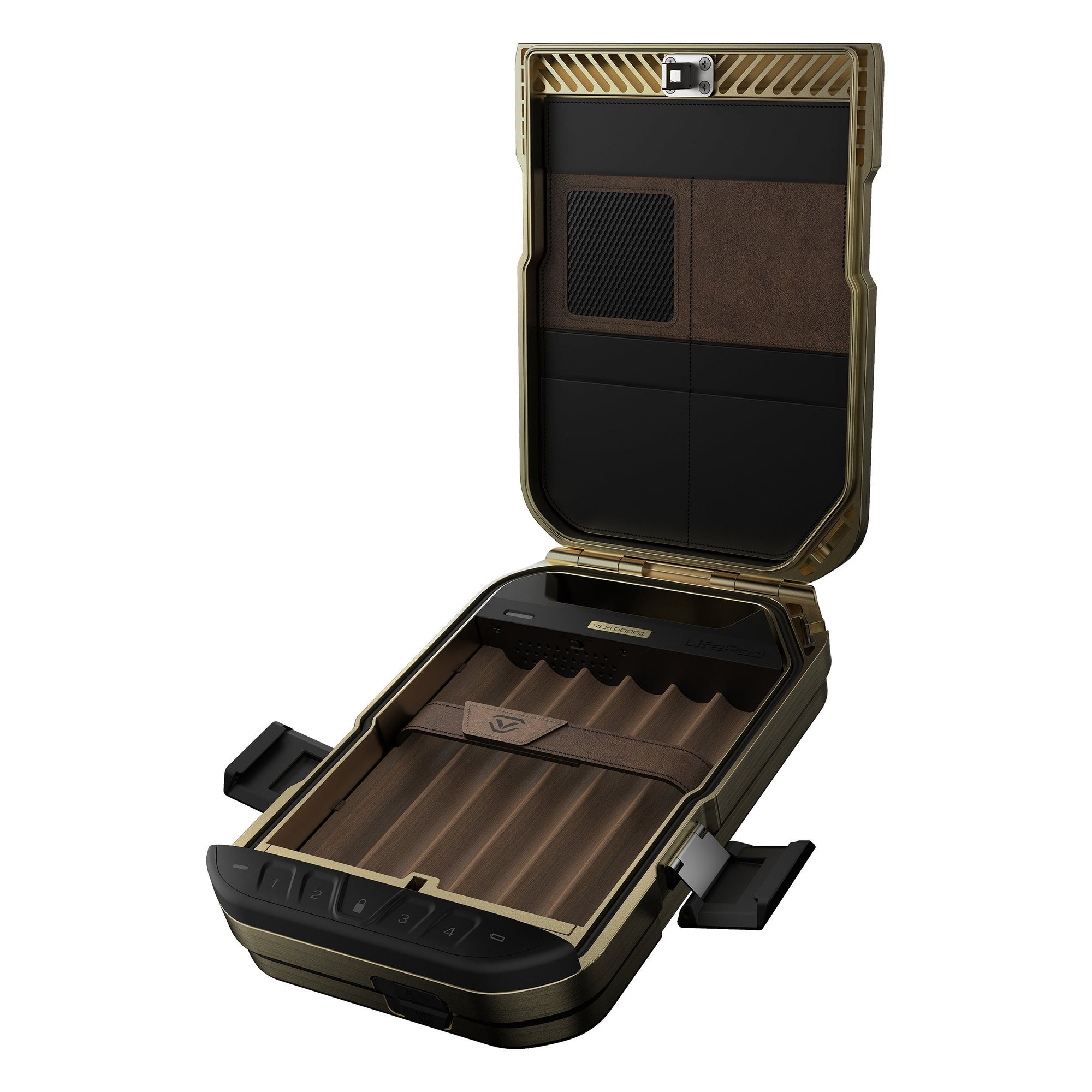 Security Safes - Vaultek Portable Lifepod Humidor Lockbox