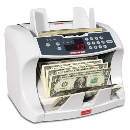 Semacon S-1215 Premium Bank Grade Currency Counter