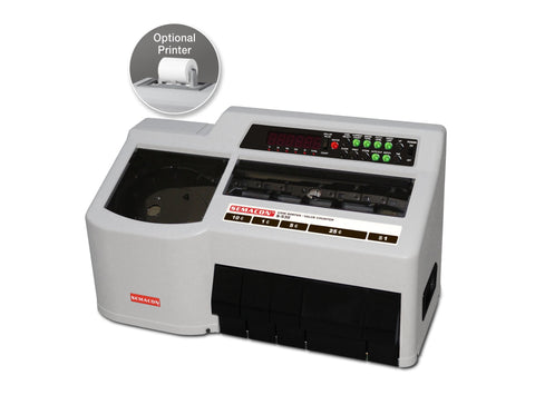 Semacon S-530 Heavy Duty Coin Sorter / Value Counter