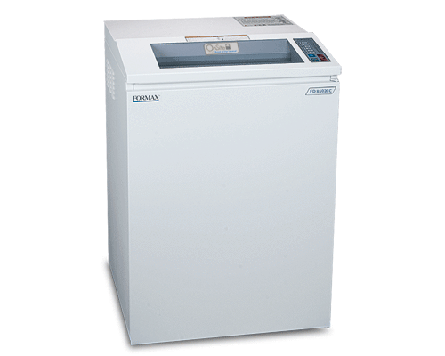Shredders - Formax FD 8502CC Onsite Office Cross-Cut Shredder