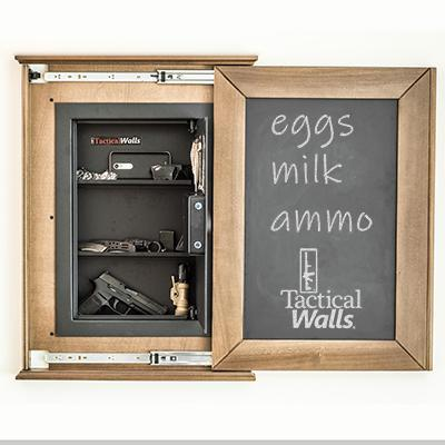 Tactical Walls - Tactical Walls 1420M Concealment Chalkboard With Magnetic Lock