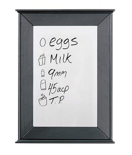 Tactical Walls - Tactical Walls 1420M Concealment Dry Erase Board With Magnetic Or RFID Lock