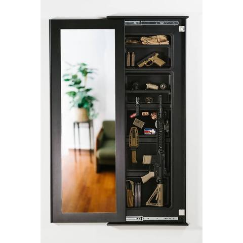 Tactical Walls - Tactical Walls 1450M Full Length Concealment Mirror With Magnetic Lock