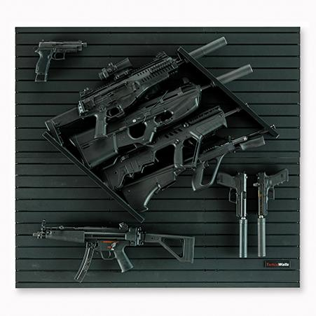 Tactical Walls - Tactical Walls MWVRACK4 Modwall Vertical Rifle Rack
