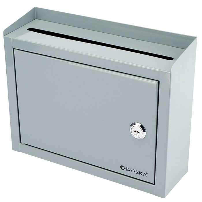 Through The Wall Depository Safe - Barska CB12710 Multi-Purpose Drop Box