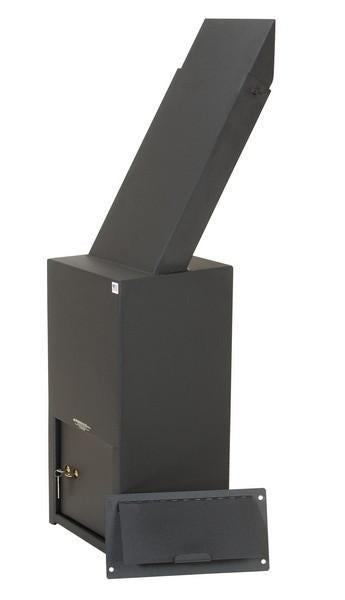 Through The Wall Depository Safe - Perma-Vault PRO-2225-E Through The Wall Deposit Safe With Electronic Lock