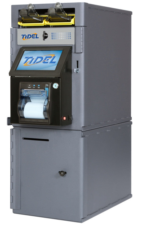 Tidel Series 4 Safe with Single Bulk Note Feeder (cash only machine)