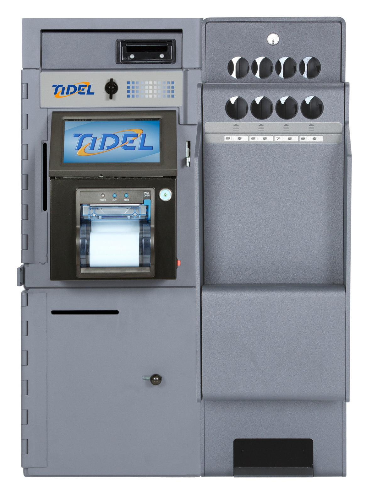 Tidel Series 4 with Single Note Feeder and Tube Vend