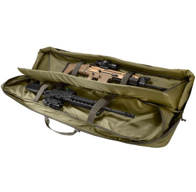 "Transportable Gun Bags And Cases - SafeandVaultStore 45.5"" Tactical Rifle Bag (Green)"