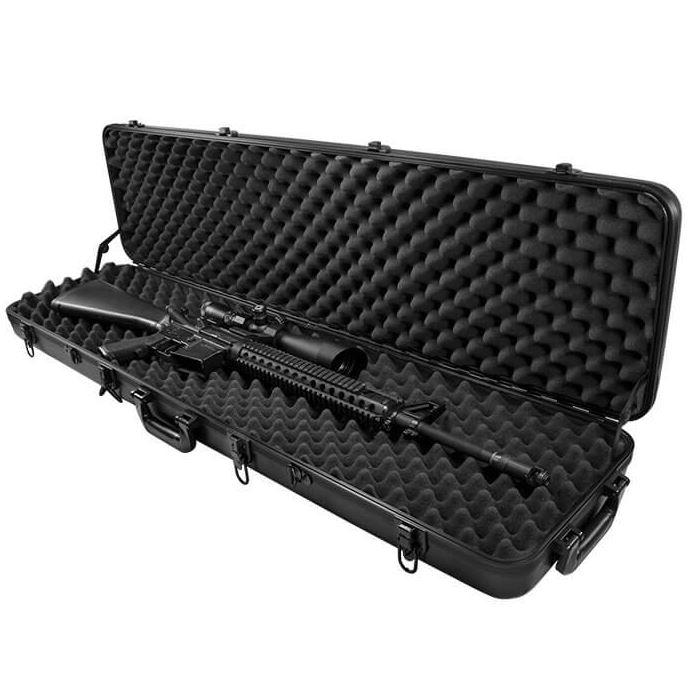 "Transportable Gun Bags And Cases - SafeandVaultStore 45"" Hard Rifle Case B4000"