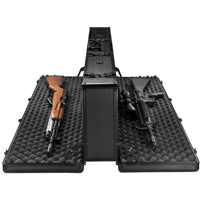 Transportable Gun Bags And Cases - SafeandVaultStore 50 Inch Double-Sided Hard Rifle Case B6000 - Refurbished