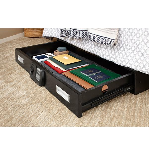Under Bed Gun Safes - SNAPSAFE Under Bed Safe L