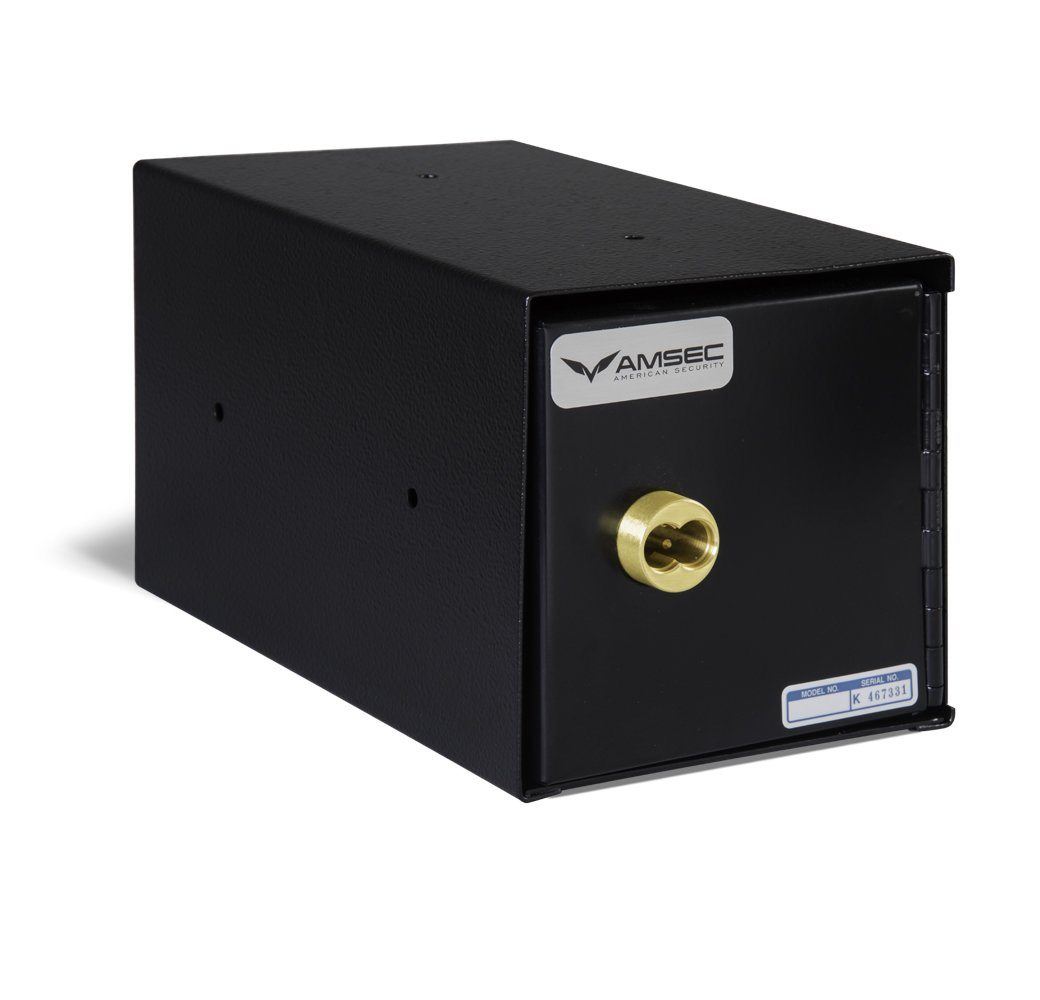 AMSEC TB0610-7 Undercounter Safe with Best Removable Core Key Lock