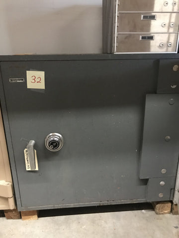 Used Safes And Outlet Store - Allied Gary #32 TL-15 Steel Plate Safe
