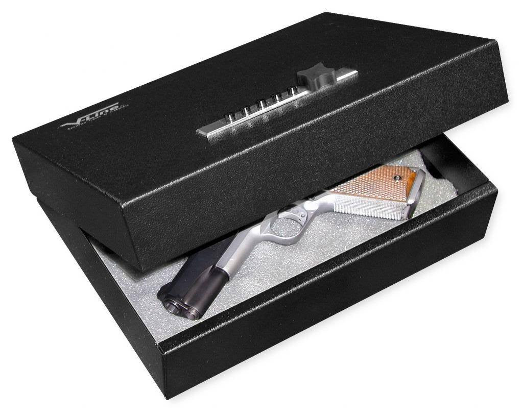 V-Line 2912-S Top Draw Pistol Safe