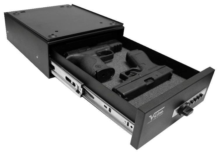 V-Line 10123-S Slide-Away Handgun & Pistol Safe