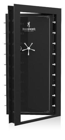 "Vault Doors - Browning Clamshell Vault Door - In-Swing 83.00"" X 42.75"" - Black Gloss"