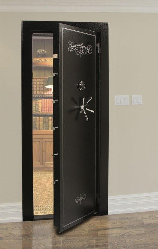Vault Doors For Panic Rooms & Walk-In Safes - AMSEC VD8030NFIS In-Swing Vault Door