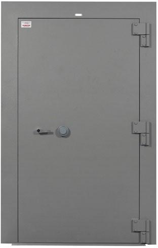 Vault Doors For Panic Rooms & Walk-In Safes - Hamilton 7110-00-935-1885-V Class 5 GSA Vault Door With Optical Device - Right Swing