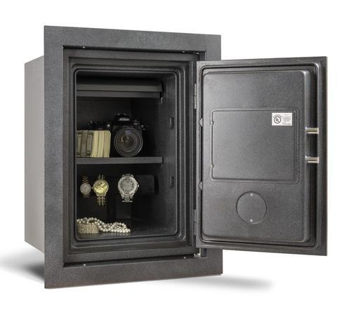 Wall Safes - AMSEC WFS149E5LP Fireproof Wall Safe