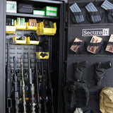 Weapon Cabinets - SecureIt ANS-59-08-PLUS-YLW Answer Series Model 8 Plus Heavy Duty Ultralight Gun Safe