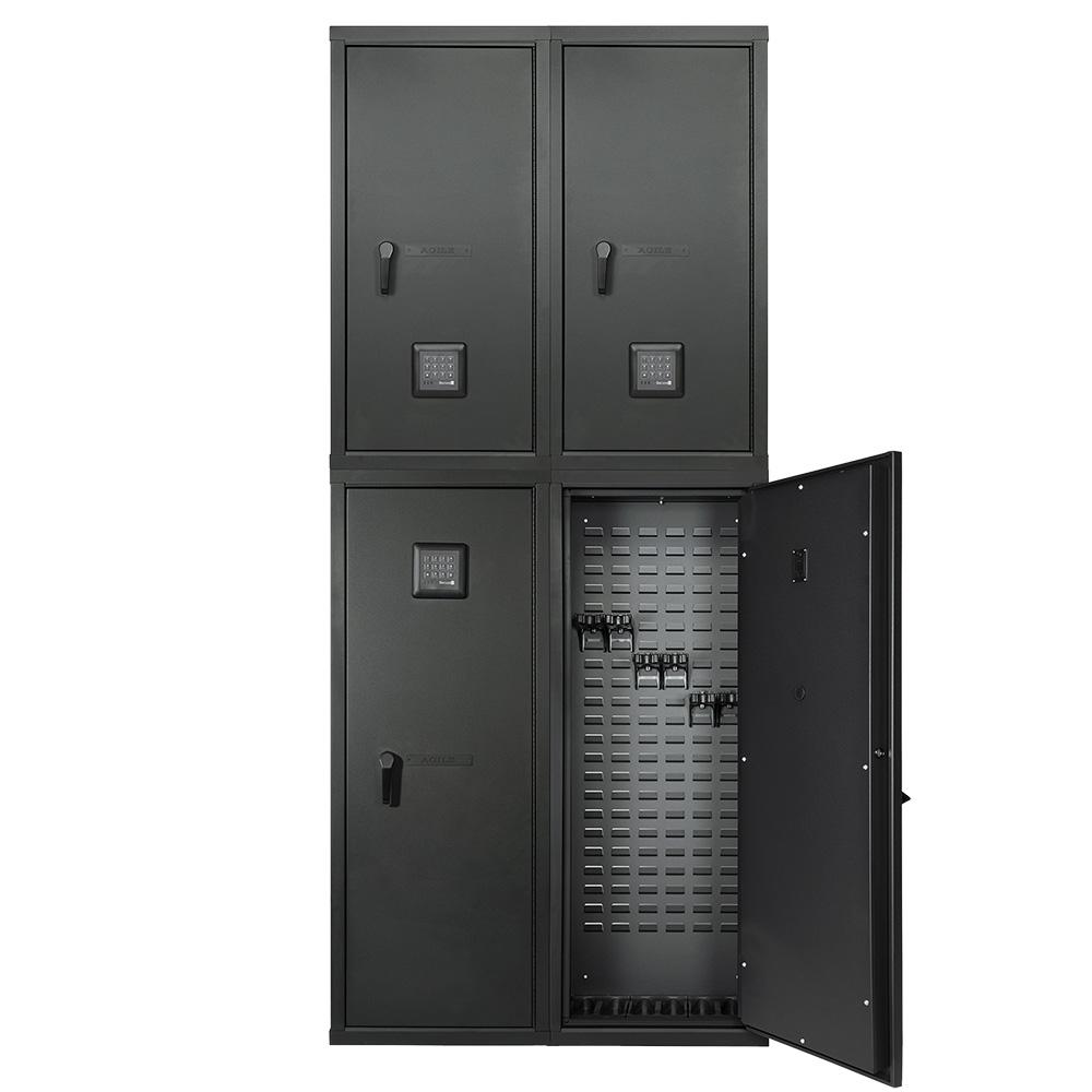 Weapon Cabinets - SecureIt FB-QUAD-24 Agile Quad Model 52 & 40 Ultralight Gun Safe - Combo Kit