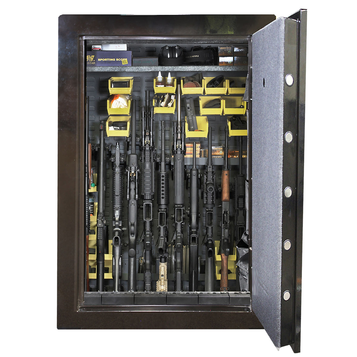 Weapon Cabinets - SecureIt SEC-S12-01 Gun Safe Kit Retrofit 12