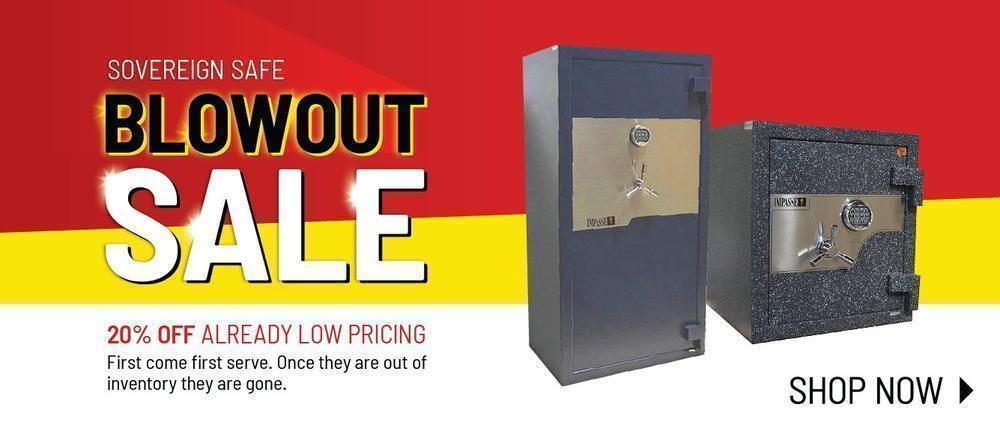 Sovereign Safe Blow Out Sale
