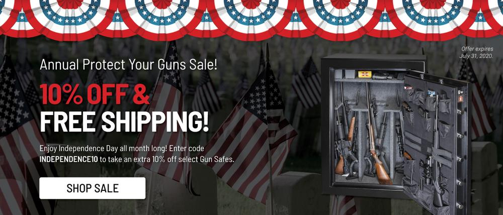 10% off Browning Silver & Rawhide Series Safes