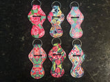 Chap Stick Key Chain Holder (Patterned)