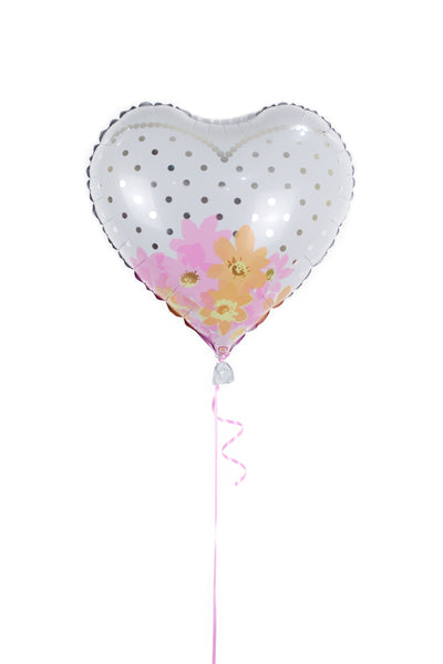 Heart Shaped Wedding Dress  Foil Balloon