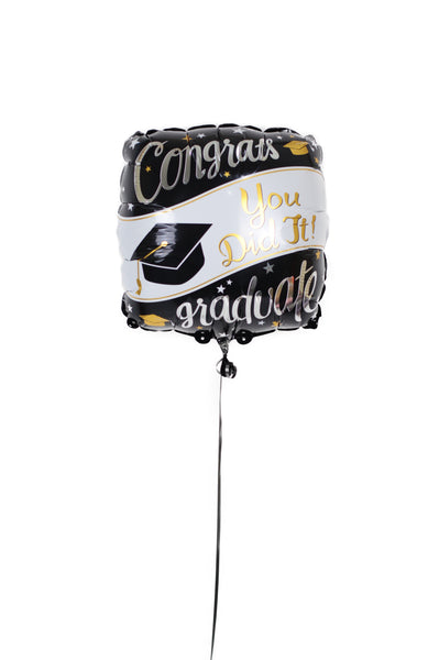 "Graduation Foil Balloon ""You did it"""
