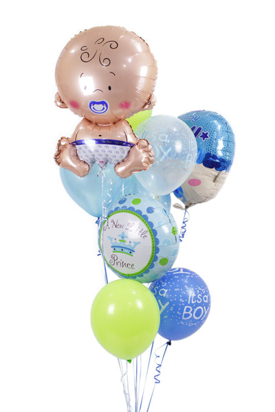 It's a Baby Boy Bouquet Balloons