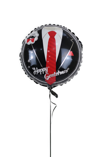 Happy Gentlemen Foil Balloon