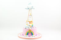 Rainbow Unicorn Cake  كيكة يونيكورن