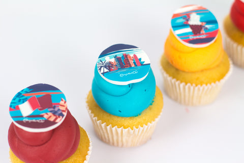Qatar National Day Cupcakes